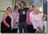 Some more of the team in pink