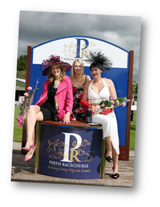 Ladies' Day at Perth Racecourse May 2011