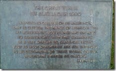 The Great Tower Plaque