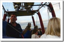 On board with our pilot- Angela's pictures