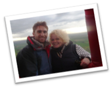 Marketing Exec Kirsty Mills with fiancee Adam Fleetwood our VBF Graphic Designer