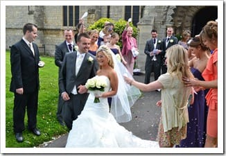 Mr and Mrs HighField's Big Day