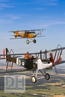 WW1 aircraft at Shuttleworth, Old Warden Airfield