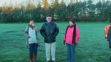 Ron and Joan before balloon flight over County Durham by Zoe Smith