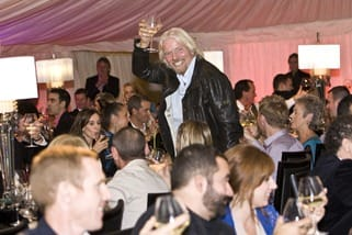 Richard Branson at Stars of the Year Event