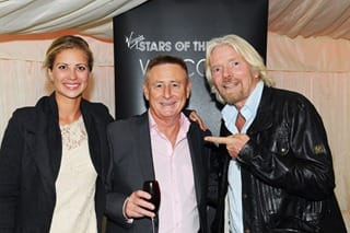 Roger with Richard and Holly at Virgin Star of the Year Awards