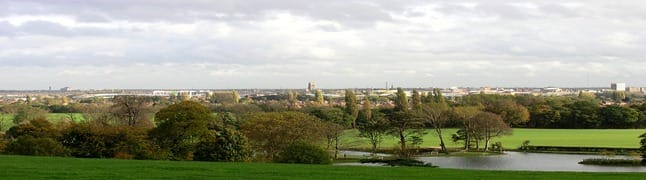View from Cusworth Hall