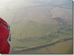 Middle Ditchford from the air