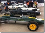 Classic racing Lotus at Silverstone Classic Media Day