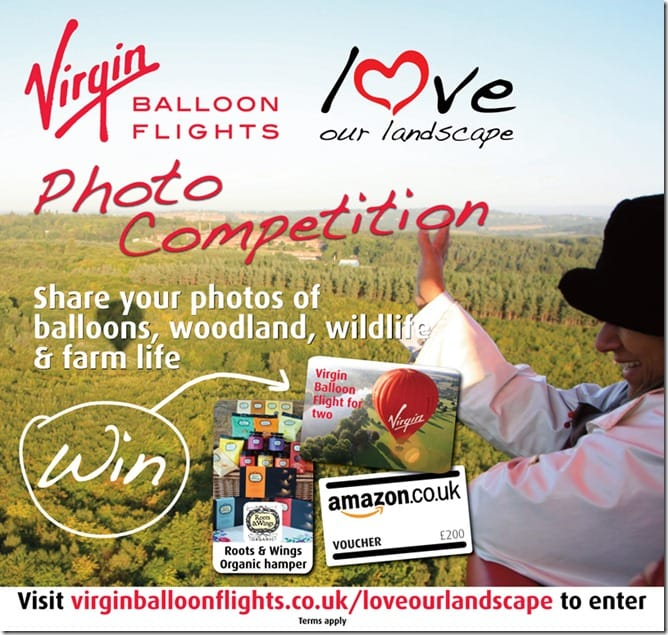 Virgin Balloon Flights Photo Competition