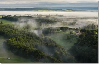 Lowther River By hot air balloon stunning picture by (Joe Stockdale)
