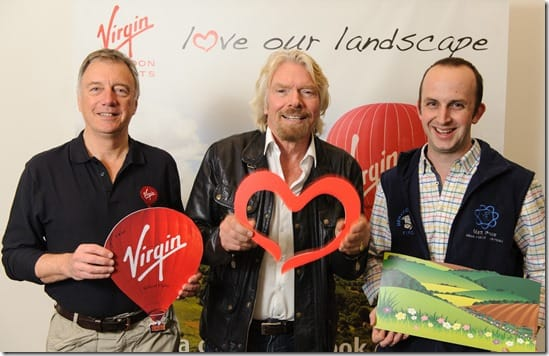 Love our Landscape Richard Branson