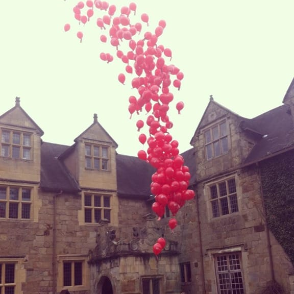 balloons released