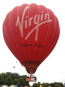 Virgin balloon at the Fiesta