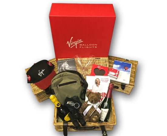 The person who suggests the winning name will receive this luxury gift hamper and all the Virgin Balloon Flights goodies in it.