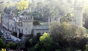 Great photo of Warwick Castle taken by one of our passengers.
