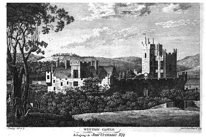 Witton Castle 200 years ago.