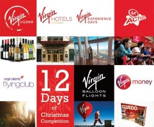 Virgin Advent Calendar Competition