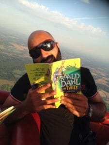 The Twits at 2000 feet on Roald Dahl Day