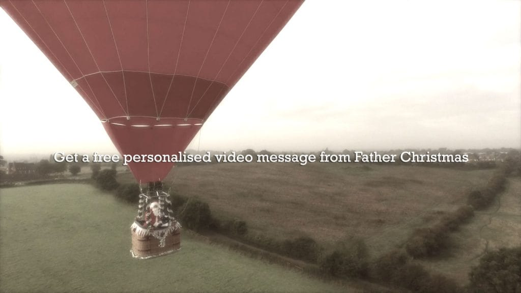 Personalised video from Father Christmas