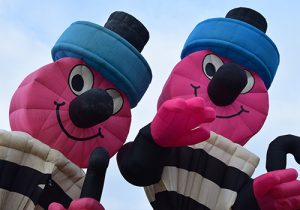 Bertie Bassett hot air balloon