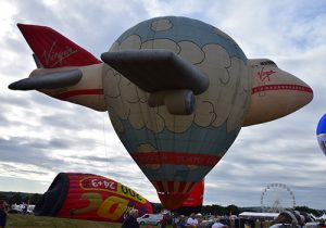 Virgin Jumbo hot air balloon G-UMBO