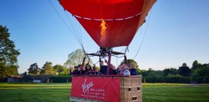 Virgin Balloon Flight Erddig 1