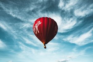 Cheltenham Balloon Fiesta 2019 Virgin Balloon