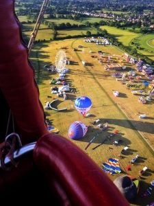 Cheltenham Balloon Fiesta 2019 morning flight