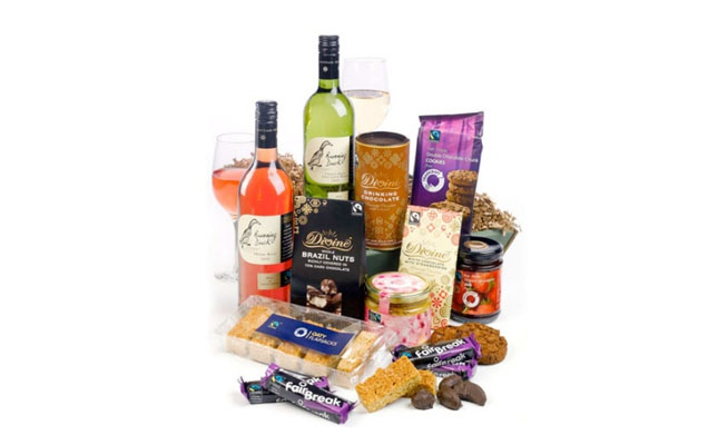 Fair Trade Wine Gift Hamper