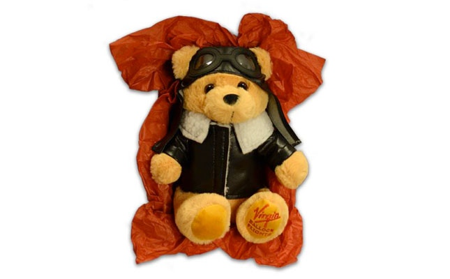 Limited Edition Pilot Hugo Bear Balloon Flight