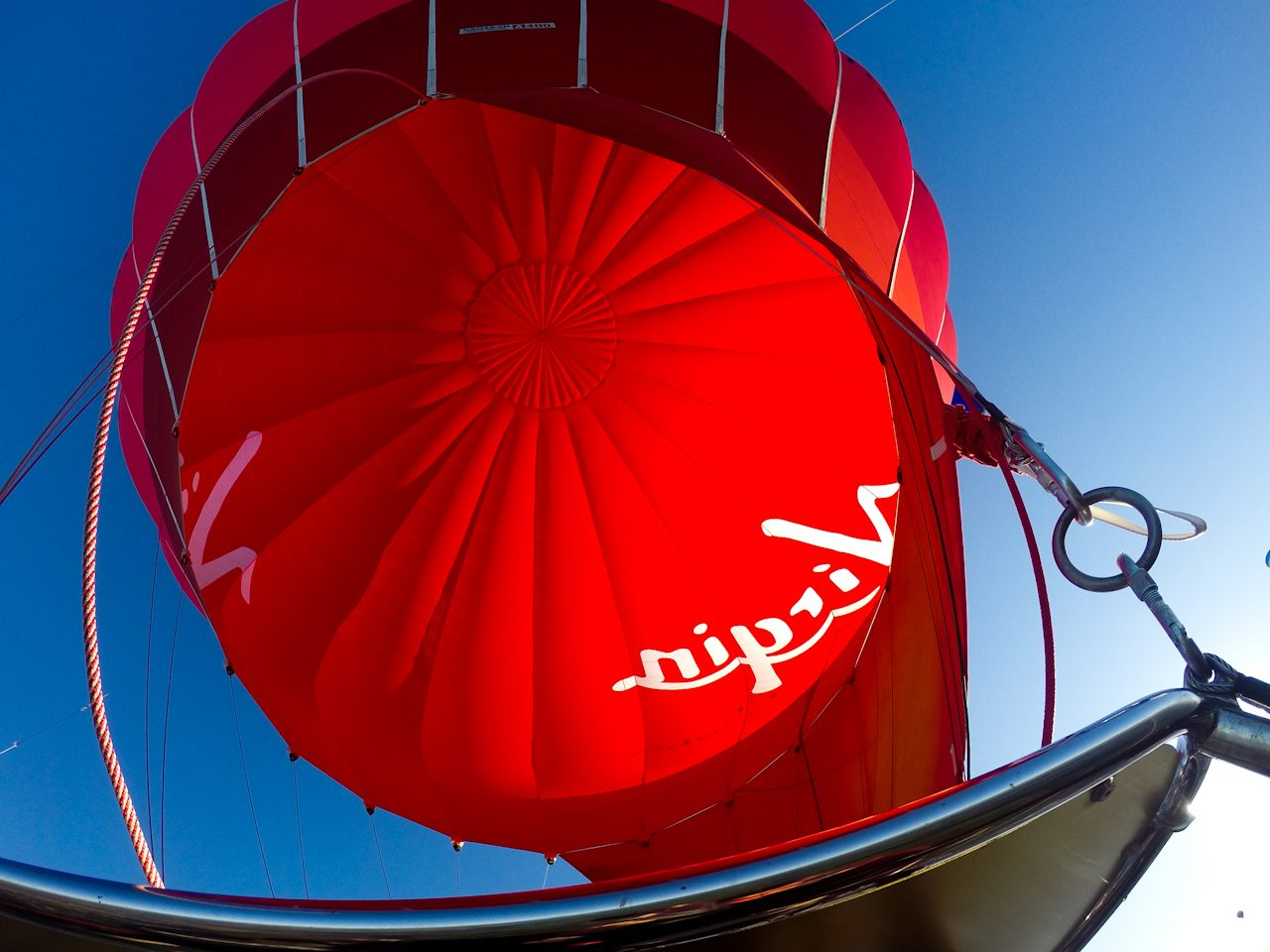 Hot air balloon envelope
